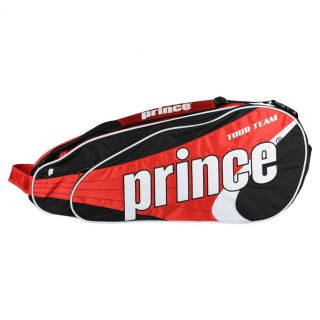 Prince Tour Team 6 Pack Tennis Bag Red  Red