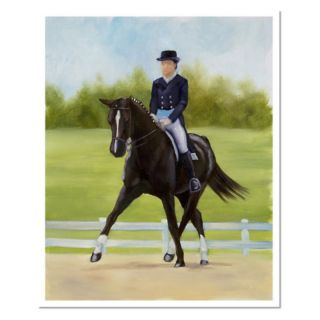 Trademark Global Inc Horse of Sport IX Canvas Art by Michelle Moate   Medium