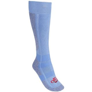 Hot Chillys Premiere Hi Volume Socks   Heavyweight  Over the Calf (For Women)   SKY/HEATHER (S )
