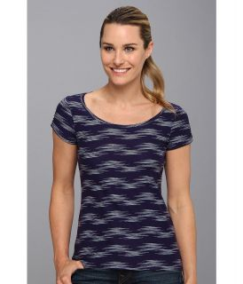 Columbia Rocky Ridge III Print Tee Womens T Shirt (Navy)
