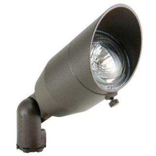Focus Lighting DL22BRT 12V 20W Aluminum Swivel Adjustable Bullet Directional Light Bronze Texture