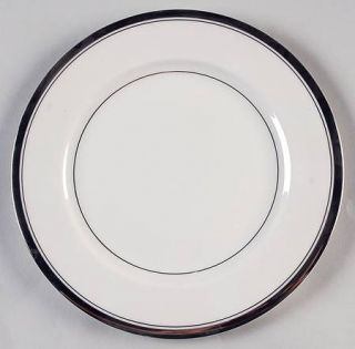 Ancestral   Am Hostess Wedding Band (Platinum Band) Salad Plate, Fine China Dinn
