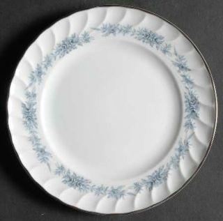 Royal Jackson Blue Heaven Bread & Butter Plate, Fine China Dinnerware   Platinum