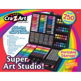 Cra Z Art 250 Pc Deluxe Art Set