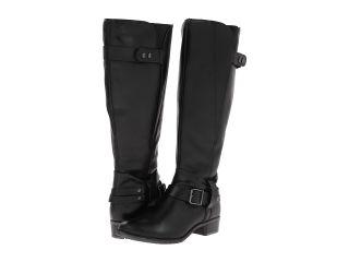 Hush Puppies Chamber 14BT Wide Calf Womens Dress Zip Boots (Black)