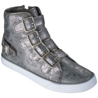 Girls Circo Hadlee High Top Sneaker   Pewter 1