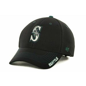 Seattle Mariners 47 Brand MLB Dark Twig Cap