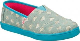 Infant/Toddler Girls Skechers BOBS Play   Blue Alpargatas