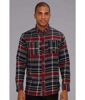 Troy Lee Designs Memphis L/S Flannel Mens Long Sleeve Button Up (Gray)