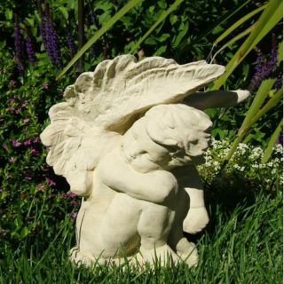 Designer Stone Inc Crying Angel Garden Statue   1306 A