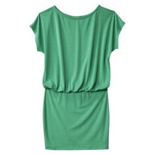 Mossimo Supply Co. Juniors Boxy Top Body Con Dress   Trinidad Green M(7 9)