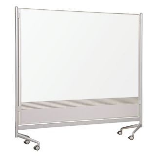 Moore Co Best Rite Double Sided Mobile Room Divider   6W x 6H ft.   661AG DT