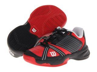 Wilson Rush NGX Junior Tennis Shoes (Red)