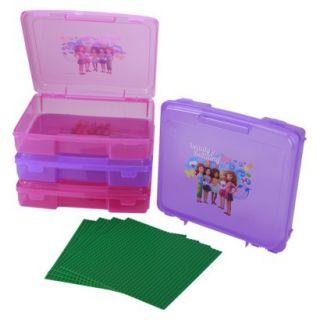 Kids Storage Unit: LEGO Friends Portable Project Case   Set of 4
