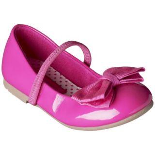 Toddler Girls Cherokee Daphne Ballet Flat   Pink 6