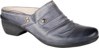 Womens Blondo Fabienne   Blue Denim Blanche Neige Leather Casual Shoes