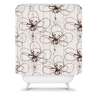 DENY Designs Rachael Taylor Tonal Floral Shower Curtain Multicolor   13258