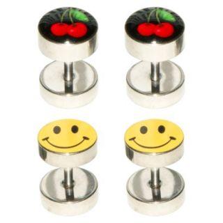 Supreme Jewelry Fake Plug Ear Ring   Multicolor