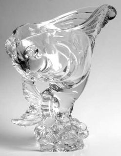 Heisey Heisey Animals & Figurines 9 Inch Clear Fish Bowl/Vase   Crystal Figurine
