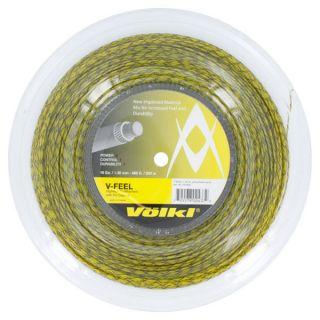 Volkl V Feel Yellow Black Spiral 16G Reel Tennis String