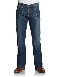 Faded Bootcut Jeans   Del Ray Oak