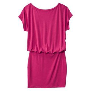 Mossimo Supply Co. Juniors Boxy Top Body Con Dress   Fresh Raspberry M(7 9)