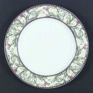 ... Oneida Eden Dinner Plate Fine China Dinnerware Pink/Black Diamond Bands Pink ...  sc 1 st  PopScreen & Oneida Wicker Dinner Plate Fine China Dinnerware Gourmet Collection ...