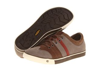 Keen Jackson Mens Lace up casual Shoes (Brown)