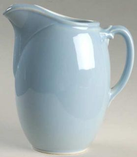 Taylor, Smith & T (TS&T) Luray Pastels Blue 38 Ounce Juice Jug, Fine China Dinne