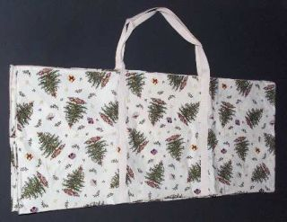Spode Christmas Tree Green Trim Tree Storage Bag/Case, Fine China Dinnerware   N