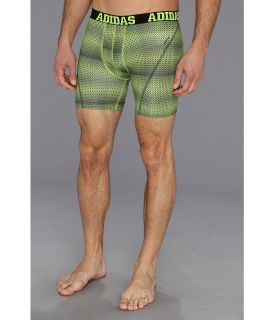adidas ClimaCool Graphic Boxer Brief Mens Underwear (Green)