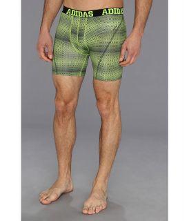 adidas ClimaCool Graphic Boxer Brief Mens Underwear (Green)