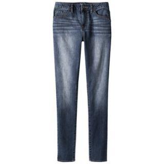 Merona Womens Skinny Denim Jean (Modern Fit) Chesapeake 10 Short