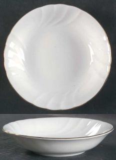 Mikasa Wedding Band Gold Fruit/Dessert (Sauce) Bowl, Fine China Dinnerware   All
