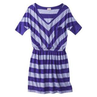 Mossimo Supply Co. Juniors V Neck Dress  Kindred Blue S(3 5)