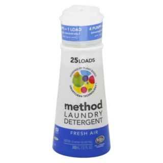 Method Fresh Air High Efficiency Laundry Detergent 10 oz