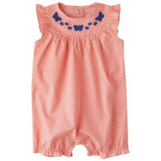 Just One YouMade by Carters Newborn Girls Jumpsuit   Orange/White/Blue 6 M