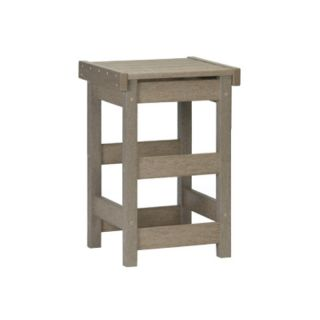 Casual Living Unlimited Bistro Collection Flat Seat Stool   STCBTSF AQUA