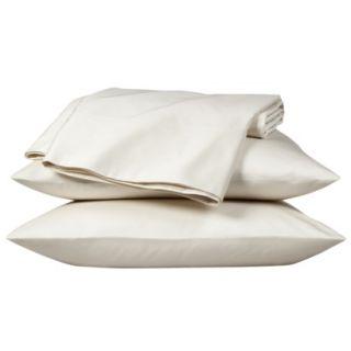 Fieldcrest Luxury 800 Thread Count Pillowcase Set   Ivory (Queen)