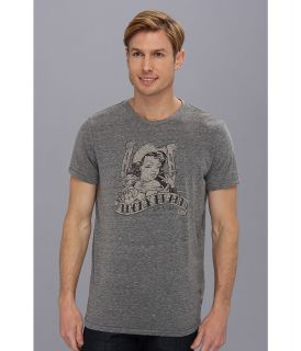 Lucky Brand Cowgirl Mens Short Sleeve Pullover (Gray)