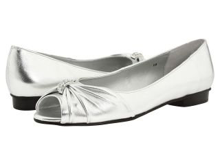 Vigotti Artie Womens Slip on Dress Shoes (Silver)