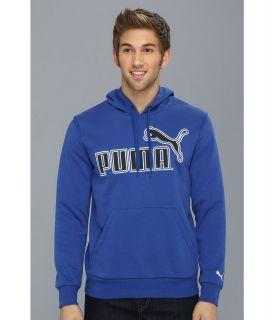 PUMA Large Logo Hoodie 827044 Mens Sweatshirt (Blue)