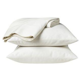 Threshold 325 Thread Count Organic Cotton Sheet Set   Ivory (California King)