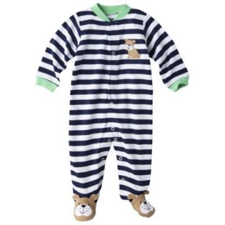 Just One YouMade by Carters Newborn Boys Sleep N Play   White/Navy 9 M