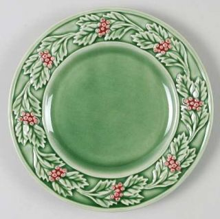 Bordallo Pinheiro Christmas Service Bread & Butter Plate, Fine China Dinnerware