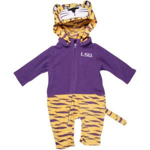 LSU Tigers NCAA Infant Mascot Fleece Outfit