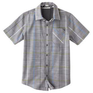 Shaun White Boys Button Down Shirt   Quartz Gray XS