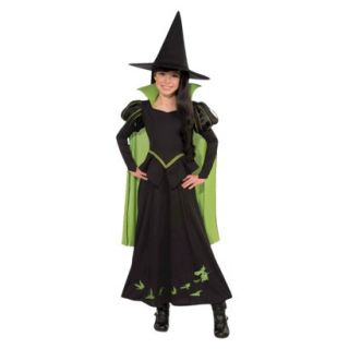 Girls Wizard of Oz Wicked Witch Of The West Costume