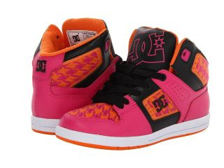DC Kids Destroyer High SE Girls Shoes (Mahogany)