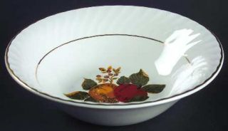 Wedgwood English Harvest Coupe Cereal Bowl, Fine China Dinnerware   Fruit Center